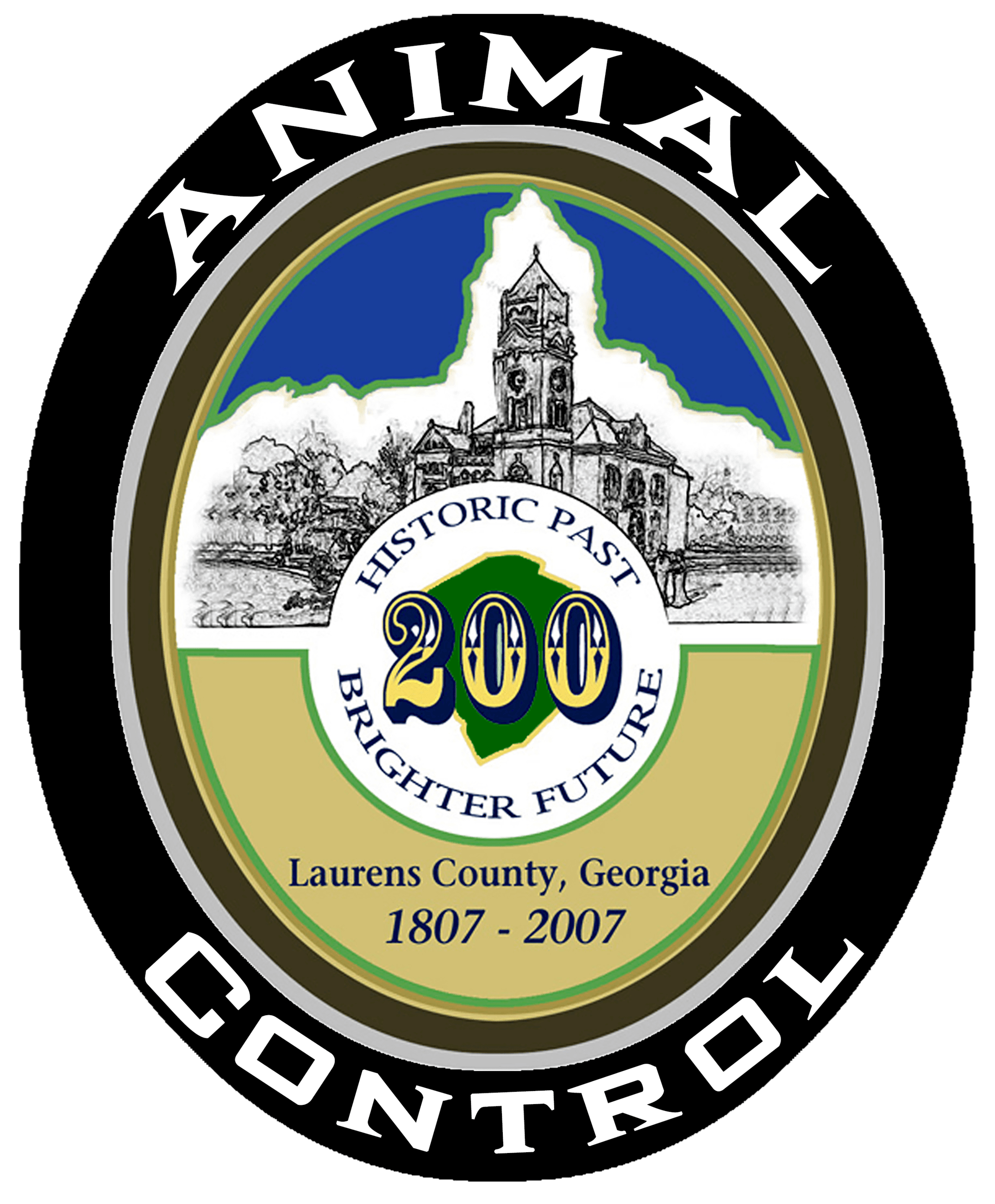 Laurens County Animal Control Logo