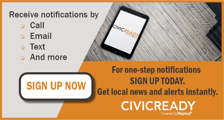 Sign Up for Civic Ready Notifications