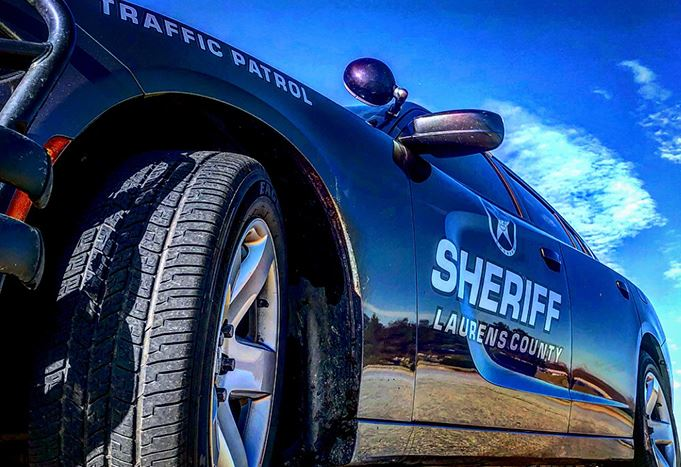 Laurens County Sheriff Traffic Patrol vehicle